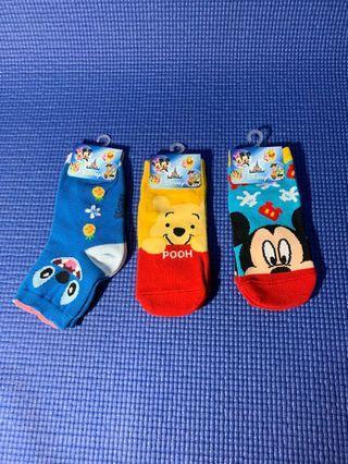 Kaos kaki anak disney character(6-8 tahun)