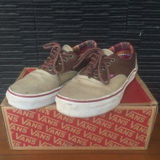 Vans Era Canvas Leather Khaki/Brown