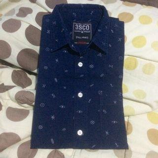 3Second Shirt Navy size M