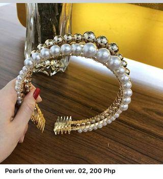Pearls of the Orient in white 100 Php, in gold 150 Php Pearls of the Orient ver. 02, 200 Php