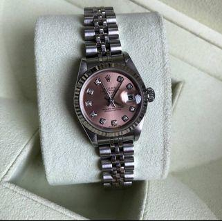 Reprice  Good Deal ❤ Rolex Datejust Lady 79174  Pink Diamond