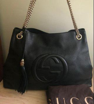 VGC Gucci Soho black 2016 with dustbag