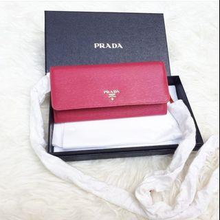 Fast Sale NBU Prada WOC in Peonia GHW Complete Set without Receipt