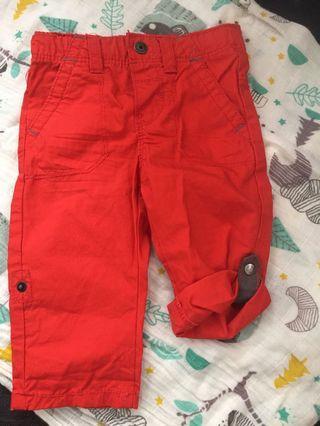 Obaibi long pants /  3/4 pants  3month
