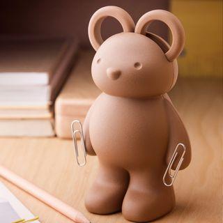 泰國QUALY泰迪小熊剪刀組(Teddy Scissors - Clip Holder and Paper Weight)