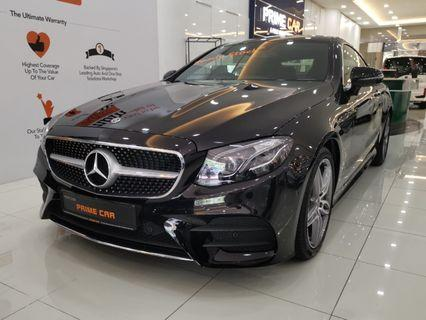 Mercedes E300 AMG Coupe 2.0L