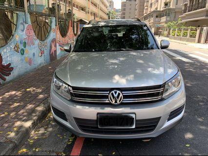 2013年VW Tiguan 1.4 TSI 銀色