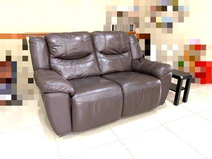 Rozel reclining two seater sofa