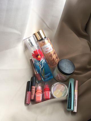 Makeup stuff; price @ desc