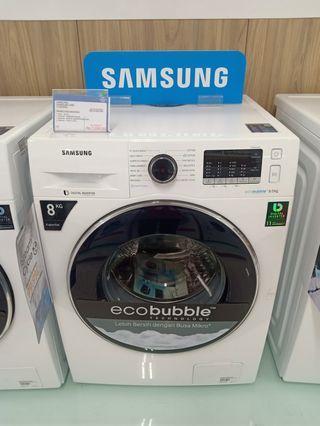 Cicil Mesin Cuci Samsung Wm Loading 8Kg Promo Gratis 1x Angsuran