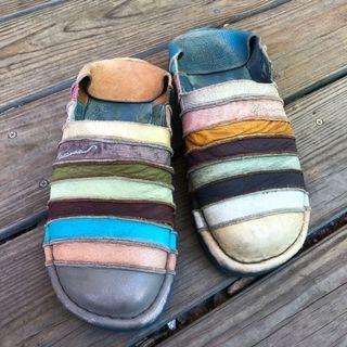 麥坎納 MACANNA 彩虹鞋 麵包鞋