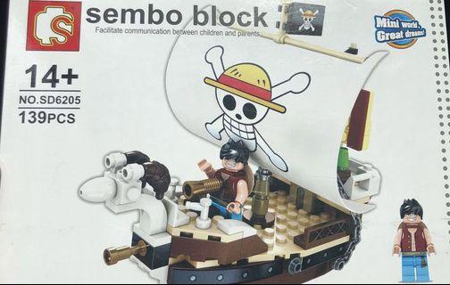 Luffy Block (FREE DELIVERY)