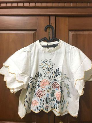 Branch Top Embroidery