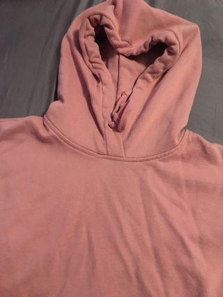 Pink Uniqlo Hoodie