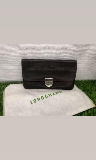 Authentic And Original Longchamp key and lock Clutch
