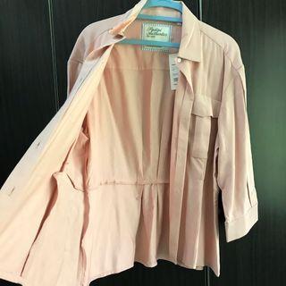 Blush Jacket Blouse