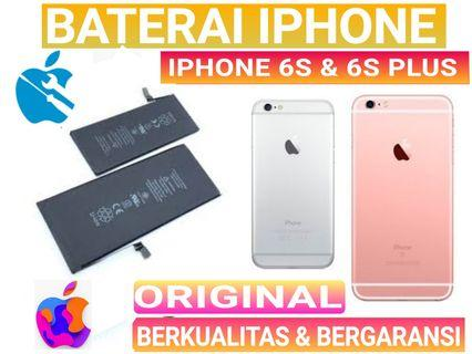 Baterai battery batrey iPhone 6S dan iPhone 6S Plus original