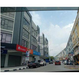 FREEHOLD SHAH ALAM 4sty 20x70 Prime Location ROI 6% Tenanted Sri Muda , Shah Alam, Kota Kemuning, Puchong, Subang, PJ