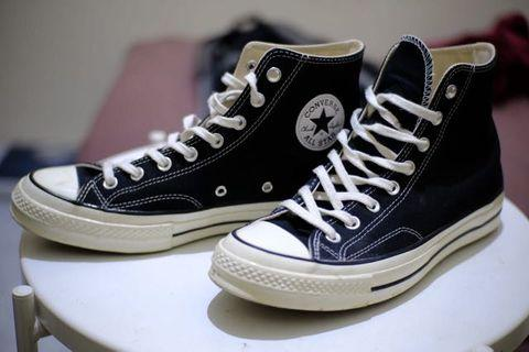 Converse 70 S black erget