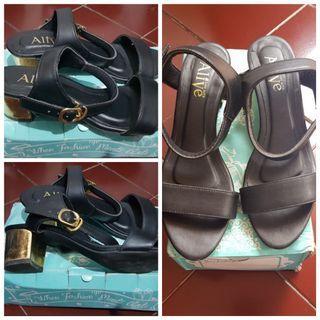 Alive Black Heels