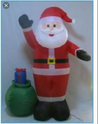 聖誕老人 充氣娃娃1.98m 6.5ft