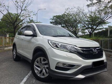 Honda CRV JUALAN SEWA BELI /KERETA SAMBUNG BAYAR