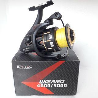 Reel Santec Wizard Gold 5000