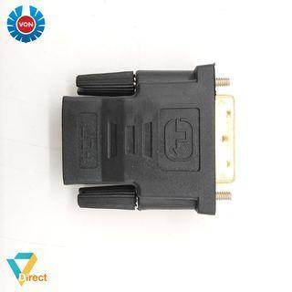 DVI 24 + 2 male to HDMI female converter adapter