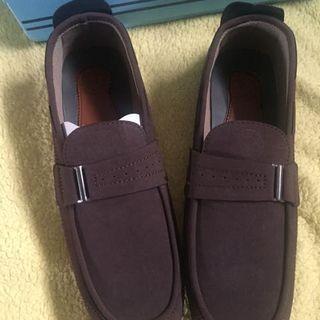 Sepatu santai pria model moccasin size 43