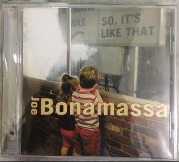 JOE BONAMASSA CD - SO IT'S LIKE THAT