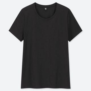 Uniqlo Women Supima Cotton Crew Neck Short Sleeve T
