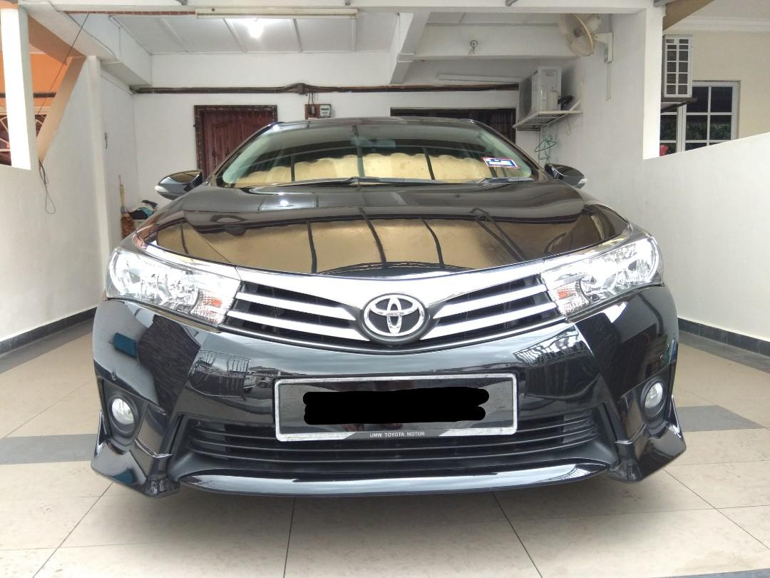 2014 TOYOTA ALTIS 1.8 (A) 1 OWNER LOW MILEAGE FULL SERVICE RECORD TOYOTA 0122298811