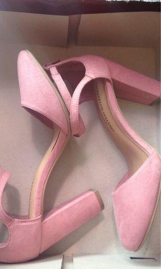 Heels pink cristian siriano by payless