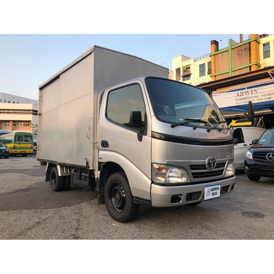 2016 Toyota Dyna with Box