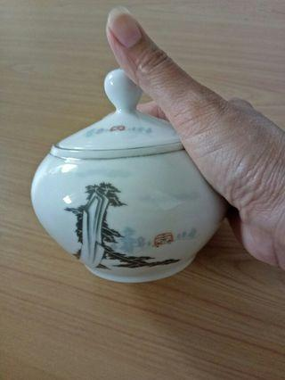 Vintage Porcelain Sugar Container