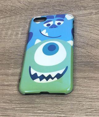 iPhone 7/8 大眼仔毛怪手機殼 藍光款