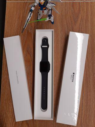 Brand New Apple Watch Series 3 GPS 42mm Space Grey Aluminium Case with Black Sport Band