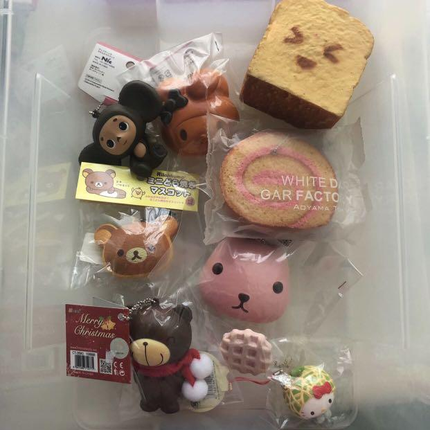 3 for $20 rare squishies!! (no defects)