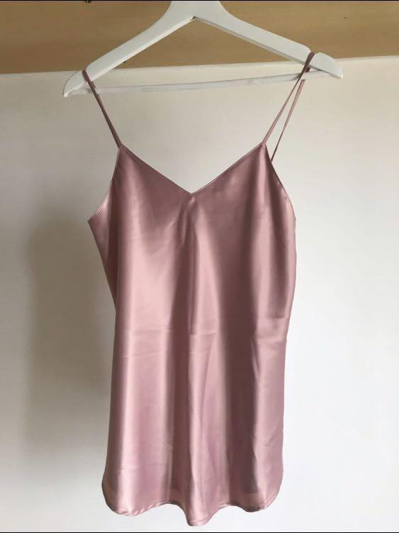 Aalis dusty pink vest