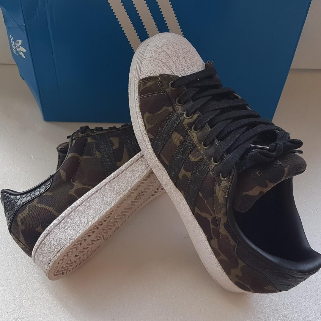 Tremendo En detalle A la meditación  Adidas Camo Shoes, Adidas Superstar Original Sports Shoes, Size US 8.5, UK  8, EUR 42, Rare Camouflage Style with White front, Limited Edition, Funky,  Groovy, Street Fashion, Walking, Running, Travelling, Daily shoes,