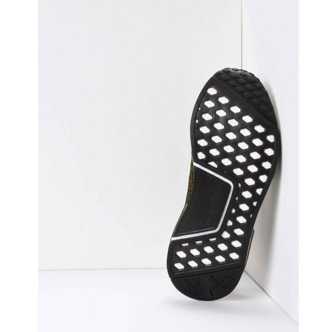 ADIDAS ORIGINALS Military Green Sneakers (Size EU 43 1/2)