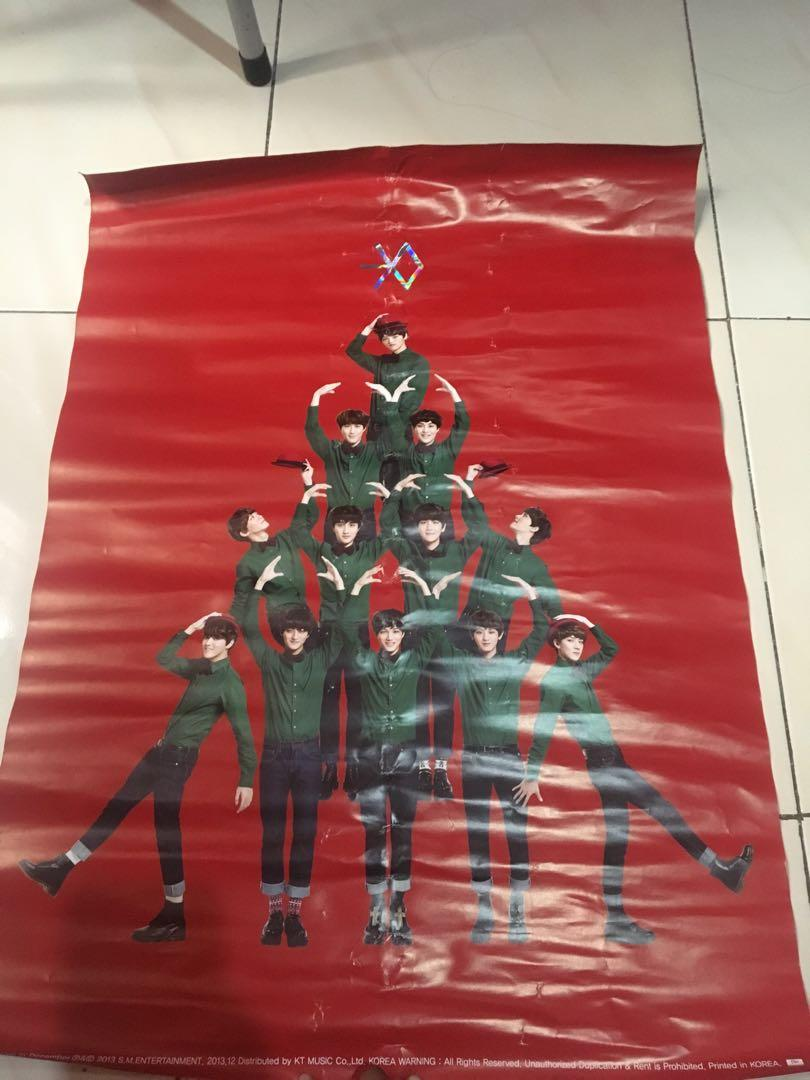 ALBUM EXO - MIRACLE IN DECEMBER WHITE VER. [WITH POSTER]
