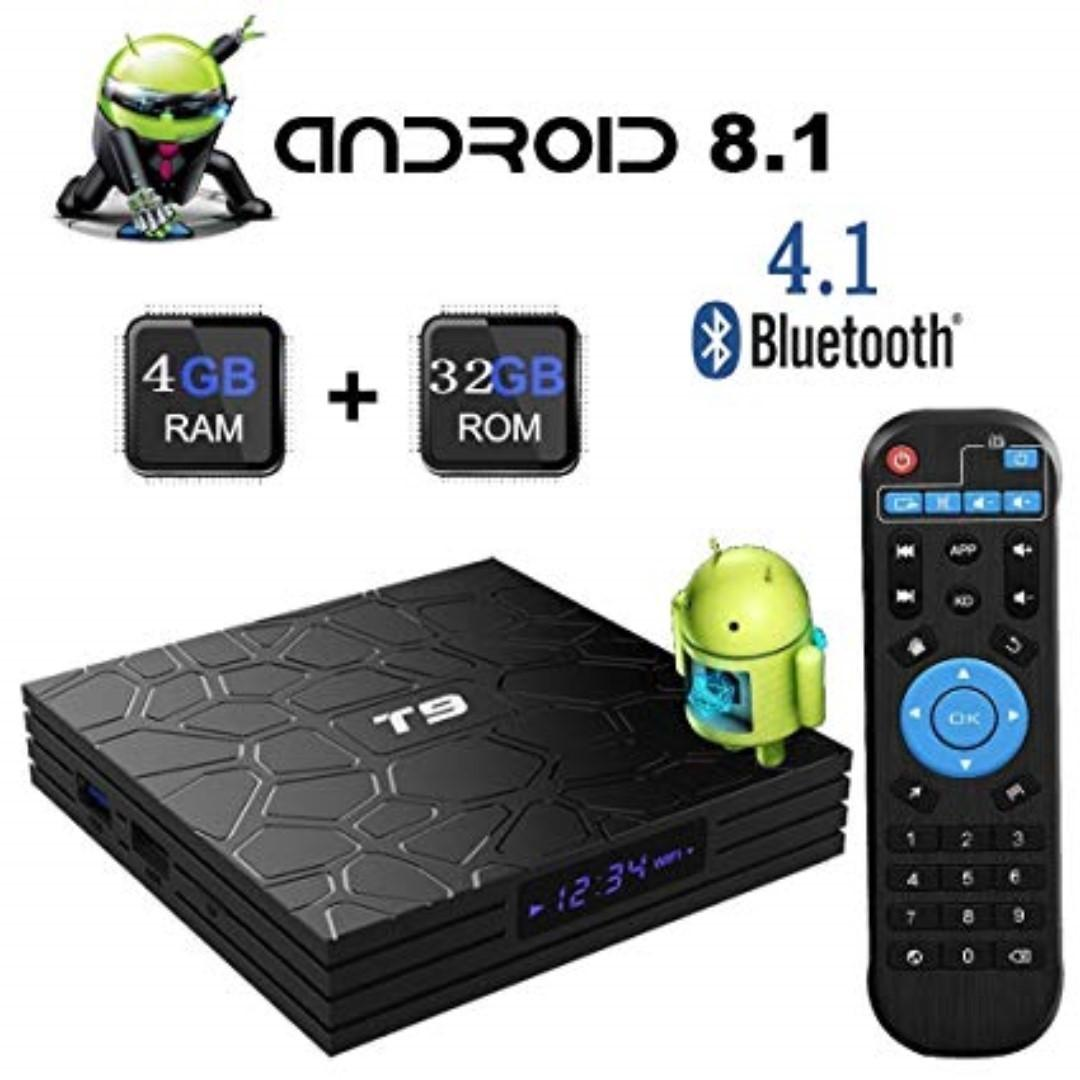 9999 boxes sold by me! Android Tv Box, T9 android 8 with 4GB ram/32GB rom loaded with apps, android tv box lastest, android tv box 4k, android tv box 4gb ram, android tv box latest, android tv box 4k, android tv box 4k 4gb, android tv box 2gb
