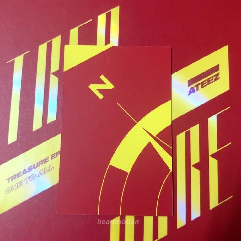 ATEEZ(에이티즈) Mini Album - TREASURE EP.3: ONE TO ALL [Illusion Version] Hongjoong Photocard