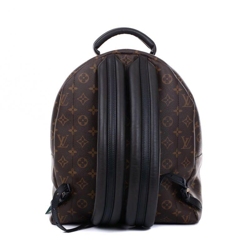 Authentic Pre-loved Louis Vuitton Palm Springs MM Monogram Canvas Backpack