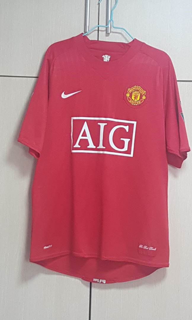 online store e9a5b 54ee0 Authentic Ronaldo CR7 Man U Jersey