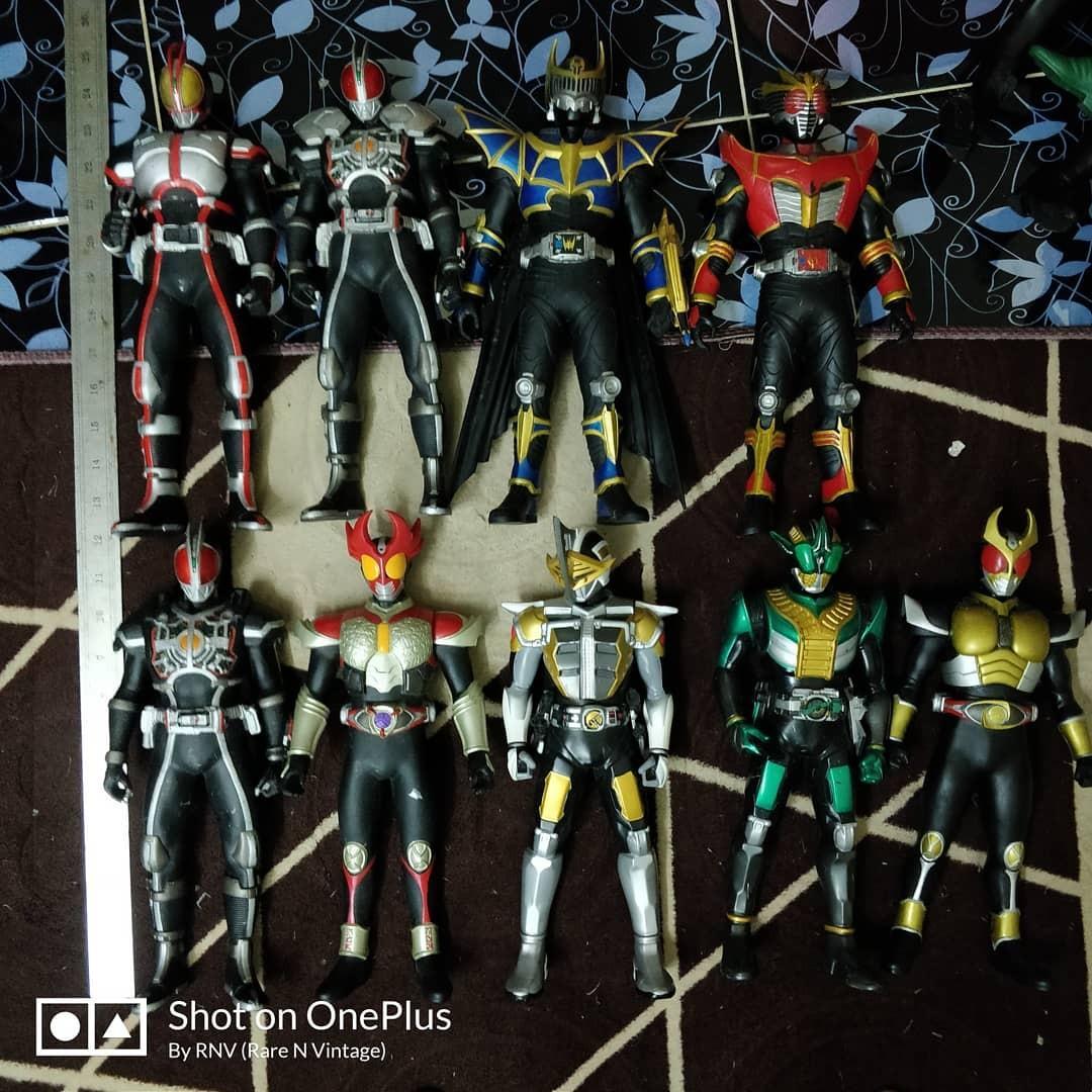 """Big sofubi Kamen Rider 10""""-15' hanya untuk borong"""
