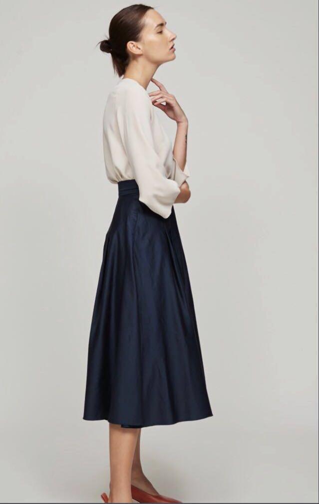 BNWT!! OSN Cotton Midi Skirt
