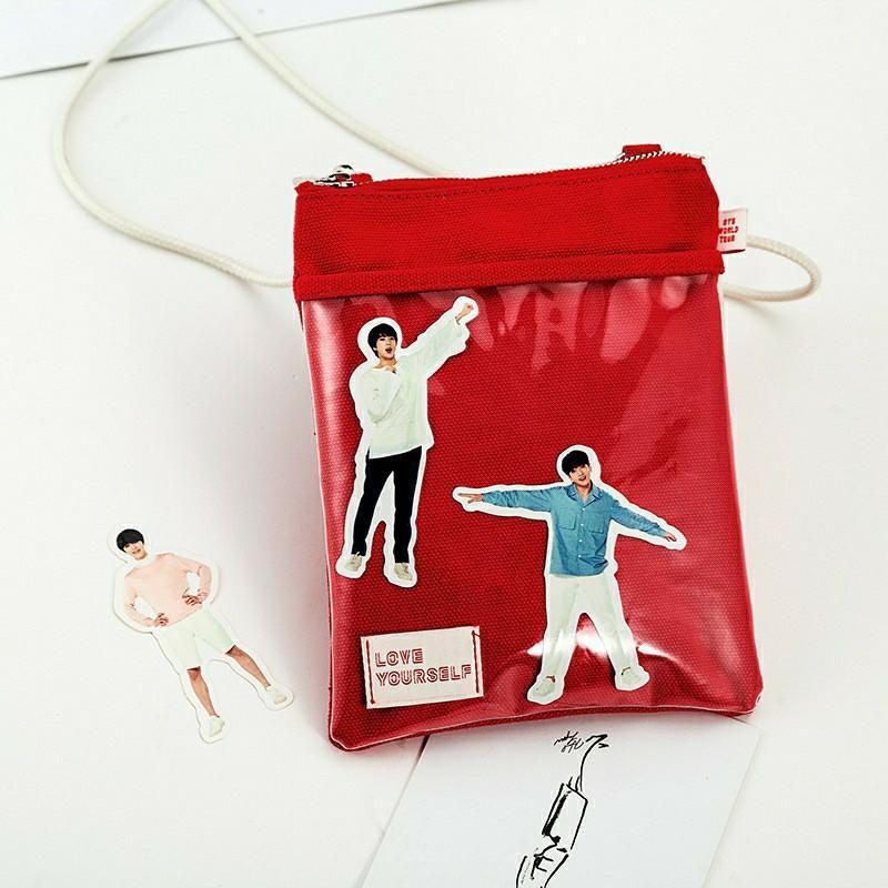 BTS: Love Yourself Concert Merch Unofficial Sling Bag