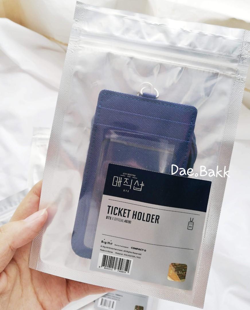 BTS Official MD - BTS 5th Muster Ticket Holder
